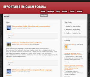 Forum home page