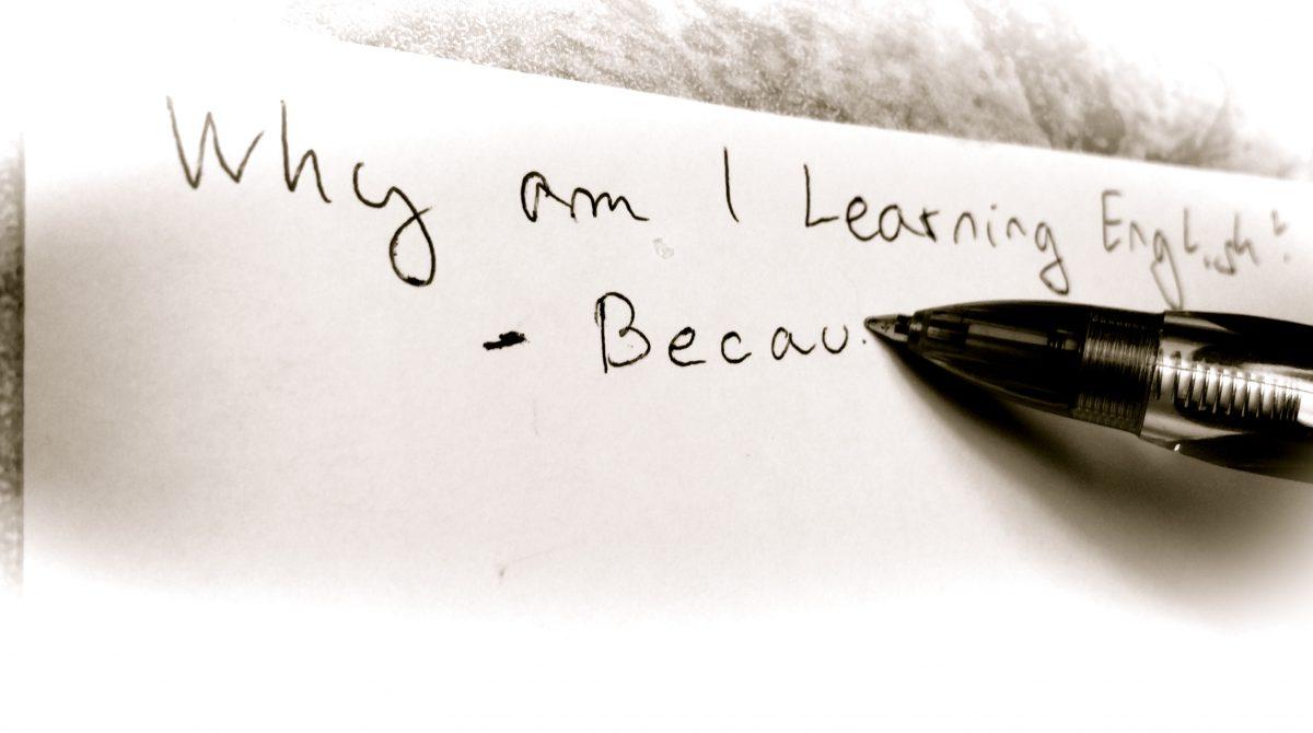 Why am I learning English?