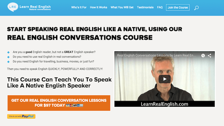 Learn Real English Website
