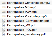 Lesson number 1 - Earthquakes